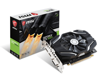 MSI GeForce GTX 1050 TI 4G OCV1 4GB GDDR5