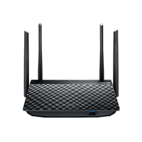 ASUS RT-AC1300G Plus Dual-band (2.4 GHz/5 GHz) Gigabit Ethernet Nero router wireless