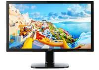 "Acer KA240Hbmidx 24"" Full HD LED Piatto Nero monitor piatto per PC"