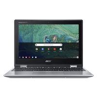 "Acer Chromebook CP311-1HN-C3E3 1.10GHz N3450 Intel® Celeron® 11.6"" 1366 x 768Pixel Touch screen Argento Chromebook"