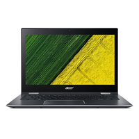 "Acer Spin SP513-52N-82PS 1.80GHz i7-8550U Intel® CoreT i7 di ottava generazione 13.3"" 1920 x 1080Pixel Touch screen Grigio Ibrido (2 in 1)"