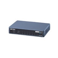 Buffalo BS-PD-2108UR L2 Fast Ethernet (10/100) Supporto Power over Ethernet (PoE) Nero switch di rete