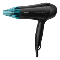 Philips Essential Care BHD017/00 1800W Nero, Blu asciuga capelli
