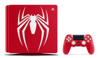 Sony PS4 1TB + Marvel`s Spider-Man 1000GB Wi-Fi Rosso