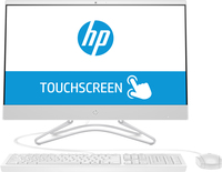 "HP 24 -f0010a 1.50GHz J5005 Intel® Pentium® 23.8"" 1920 x 1080Pixel Touch screen Bianco PC All-in-one"