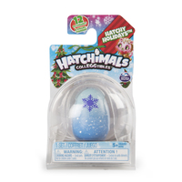 Hatchimals CollEGGtibles, Hatchy Holidays 1-Pack giocattolo interattivo