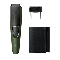Philips BEARDTRIMMER Series 3000 BT3211/13 Nero, Verde regolabarba