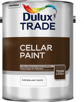 Dulux Trade Cellar Paint Pure Brilliant White 5L