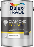 Dulux Trade Diamond Eggshell Pure Brilliant White 5L