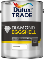 Dulux Trade Diamond Eggshell Medium Base 5L