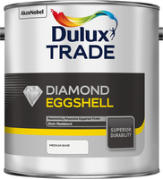 Dulux Trade Diamond Eggshell Medium Base 2.5L