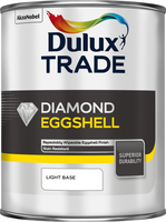 Dulux Trade Diamond Eggshell Light Base 1L