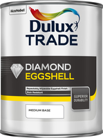 Dulux Trade Diamond Eggshell Medium Base 1L