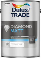 Dulux Trade Diamond Matt Pure Brilliant White 5L