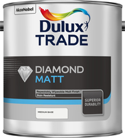 Dulux Trade Diamond Matt Medium Base 2.5L