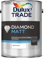Dulux Trade Diamond Matt Medium Base 5L