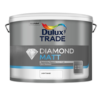 Dulux Trade Diamond Matt Light Base 10L