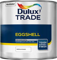 Dulux Trade Eggshell Medium Base 1L