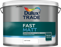 Dulux Trade Fast Matt Light Base 10L