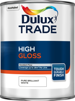 Dulux Trade High Gloss Pure Brilliant White 1L