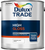 Dulux Trade High Gloss Pure Brilliant White 2.5L