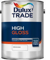 Dulux Trade High Gloss Medium Base 5L