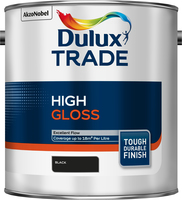 Dulux Trade High Gloss Nero 2.5L