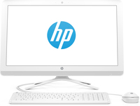 "HP 24 -f0792ng 2.2GHz i3-8130U Intel® CoreT i3 di ottava generazione 23.8"" 1920 x 1080Pixel Bianco PC All-in-one"