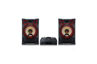 LG CK99 Mini impianto audio domestico 5000W Nero, Rosso set audio da casa