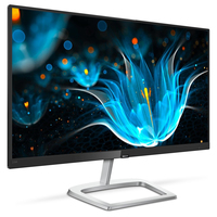 "Philips E Line 226E9QDSB/75 21.5"" Full HD LCD Piatto Nero, Argento monitor piatto per PC"