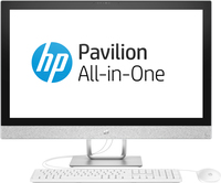 "HP Pavilion 27-r001nh 2.4GHz i5-7400T Intel® CoreT i5 di settima generazione 27"" 1920 x 1080Pixel Bianco PC All-in-one"