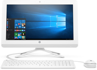 "HP 20-c400ny 2GHz J4005 Intel® Celeron® 19.5"" 1920 x 1080Pixel Bianco PC All-in-one"