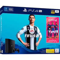 Sony PlayStation 4 Pro 1TB + FIFA 19 1000GB Wi-Fi Nero