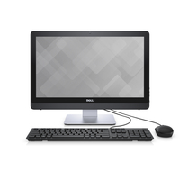 "DELL Inspiron 3264 2.4GHz i3-7100U Intel® CoreT i3 di settima generazione 21.5"" 1920 x 1080Pixel Nero PC All-in-one"