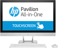 "HP Pavilion 27-r071kr 2.4GHz i5-7400T Intel® CoreT i5 di settima generazione 27"" 1920 x 1080Pixel Touch screen Bianco PC All-in-one"