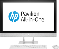 "HP Pavilion 27-r100ne 1.7GHz i5-8400T Intel® CoreT i5 di ottava generazione 27"" 1920 x 1080Pixel Bianco PC All-in-one"