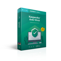 Kaspersky Lab Kaspersky Anti-Virus 2019 Base license 3licenza/e 1anno/i