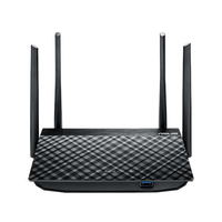 ASUS RT-ACRH13 Dual-band (2.4 GHz/5 GHz) Gigabit Ethernet Nero router wireless