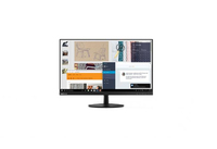 "Lenovo 65E6KAC1EU 27"" Full HD Piatto Nero monitor piatto per PC"