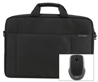 "Acer 15.6"" Options Pack Care Gold Zaino Nero"