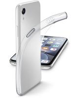 CUSTODIA PER APPLE IPHONE XR IN GOMMA FINE CELLULAR LINE FINECIPH961T TRASP