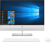 "HP Pavilion 27-xa0002ne 68,6 cm (27"") 1920 x 1080 Pixel Touch screen 1,70 GHz Intel® CoreT i5 di ottava generazione i5-8400T Bianco PC All-in-one"