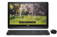 "DELL Inspiron 3264 54,6 cm (21.5"") 1920 x 1080 Pixel 2,40 GHz Intel® CoreT i3 di settima generazione i3-7100U Nero PC All-in-one"