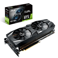 ASUS DUAL-RTX2080-8G scheda video GeForce RTX 2080 8 GB GDDR6