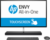 "HP ENVY 27-b208ur 68,6 cm (27"") 2560 x 1440 Pixel Touch screen 2,4 GHz Intel® CoreT i7 di ottava generazione i7-8700T Grigio, Argento PC All-in-one"