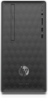 HP Pavilion 590-a0640ng 2,6 GHz AMD A A6-9225 Argento, Nero Mini Tower PC