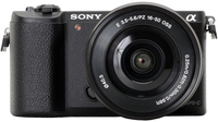 Sony a 5100 + E PZ 16-50mm MILC 24,3 MP CMOS 6000 x 4000 Pixel Bianco