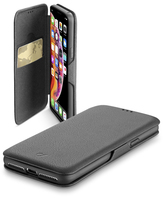 CUSTODIA PER APPLE IPHONE XS MAX CELLULAR LINE BOOKCLUTCHIPHX65K BLACK