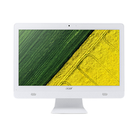 "Acer Aspire C20-820 49,5 cm (19.5"") 1600 x 900 Pixel 1,6 GHz Intel® Pentium® J3710 Bianco PC All-in-one"