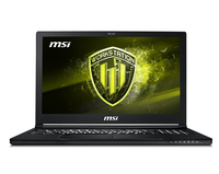 "MSI Workstation WS63 8SK-012TR notebook/portatile Nero Workstation mobile 39,6 cm (15.6"") 1920 x 1080 Pixel 2,6 GHz Intel® CoreT i7 di ottava generazione i7-8850H"